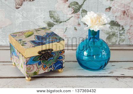 Gilded Trinket Box