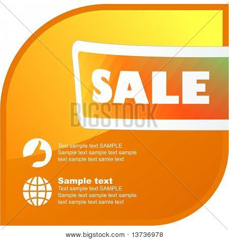 Sale banner collection. Set of vector elements for sale.