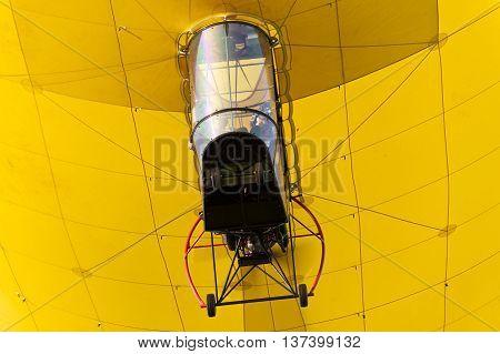 Detail of an Airship on a Balloon Sail