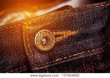jeans fashion with classic design or retro design, old jeans background and empty area for text, jeans handmade and made to order, popular ware and made by jeans.
