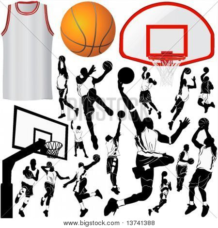 basketball and equipments 3 (clothes detail)