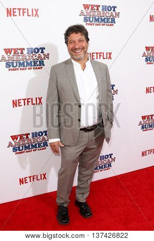 NEW YORK-JUL 22: Executive producer Jonathan Stern attends the 'Wet Hot American Summer: First Day of Camp' Series Premiere at SVA Theater on July 22, 2015 in New York City.