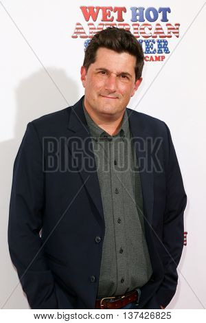 NEW YORK-JUL 22: Comedian Michael Showalter attends the 'Wet Hot American Summer: First Day of Camp' Series Premiere at SVA Theater on July 22, 2015 in New York City.