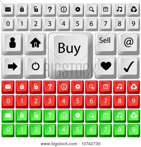 set of key vector