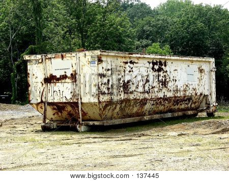 Construction - Rusty Dumpster