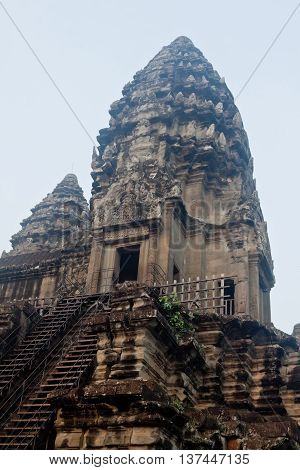 Picture of Angkor Wat complex Siem Reap Cambodia