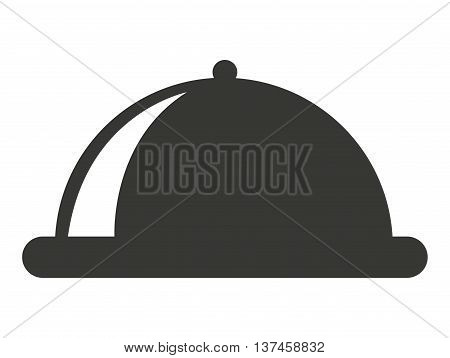 tray food isolated icon design, vector illustration  graphic