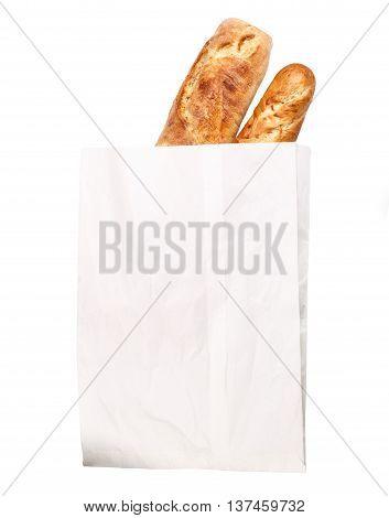 Loaf Of Baguette Paper Bag
