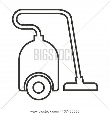 vaccum cleaner isolated icon design, vector illustration  graphic