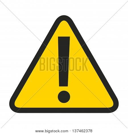 alert symbol  isolated icon design, vector illustration  graphic
