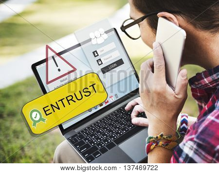 Entrust Allowed Accessible Approved Concept