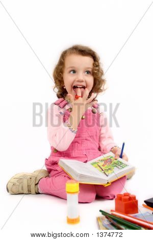The Girl (Child) With The Book