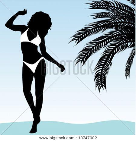 poster of summer girl