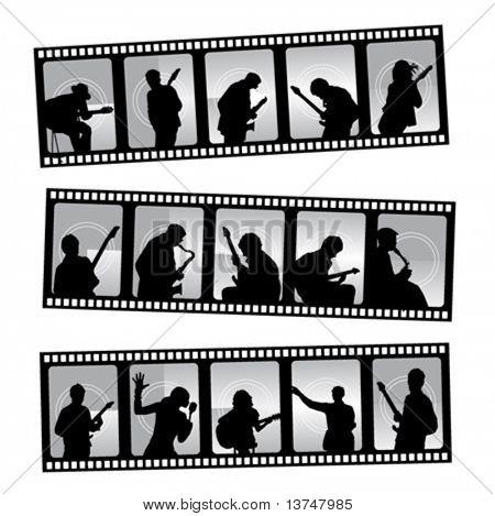 music filmstrip