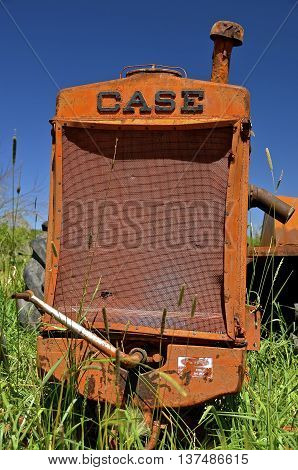 BARNESVILLE,  MINNESOTA, June 15, 2016: The Case Corporation was a manufacturer of construction equipment and agricultural equipment, founded by Jerome I. Case, it existed for over 150 years.