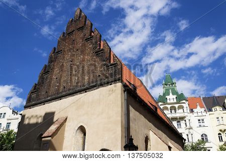 Old New Synagogue In Prague - Oldest Active European Synagogue