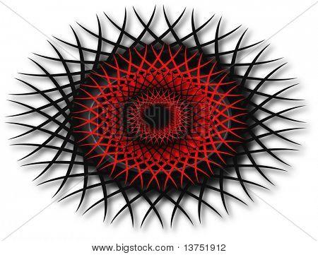 A abstract design