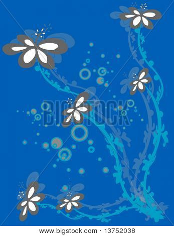 Floral vector for your designs