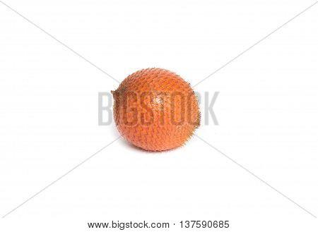 Salak fruit Salacca zalacca isolated on the white background