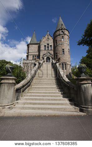 the fairy tale castle, teleborg, växjö, sweden