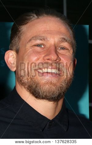 LOS ANGELES - JUL 7:  Charlie Hunnam at the Equals LA Premiere at the ArcLight Hollywood on July 7, 2016 in Los Angeles, CA