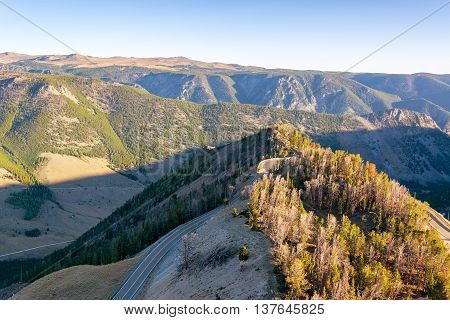 View Of The Beartooth Mountains