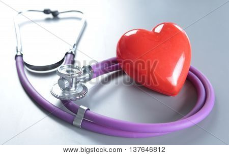 Medical Instruments For Ent Doctor On White