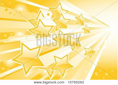 Background with shining star torrent