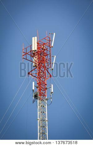 phone antenna used to transmit telephone signals