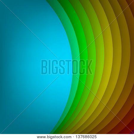 Arc modern vector background for poster, book, brochure, website design or presentations. Arc layered shape base. Vector illustration