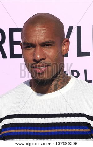 LOS ANGELES - JUL 7: Nigel De Jong at the prettylittlething.com launch party at a private residence on July 7, 2016 in Los Angeles, California