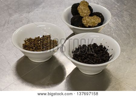 3 Bowls With Truffle