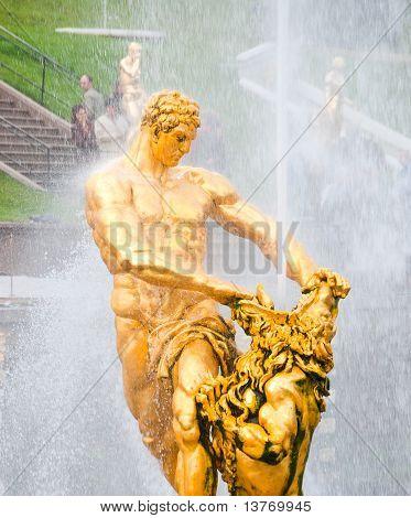Samson Statue