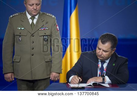 Defense Minister Of Ukraine Stepan Poltorak