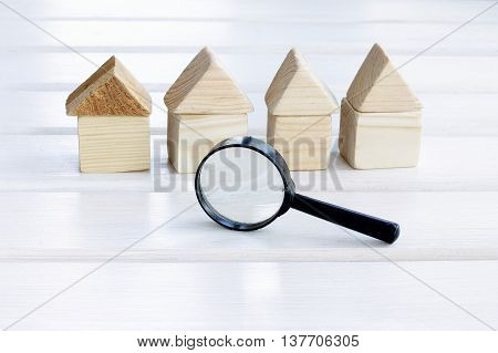 careful and picky choice of properties with a magnifying glass