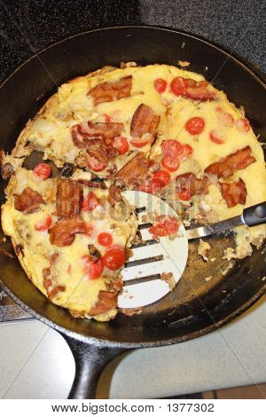 Frittata In A Skillet