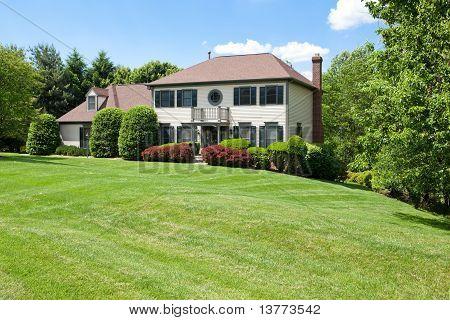 Suburban Single Family House