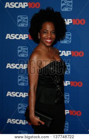 NEW YORK-NOV 17: Rhonda Ross Kendrick attends the ASCAP Centennial Awards at The Waldorf Astoria on November 17, 2014 in New York City.