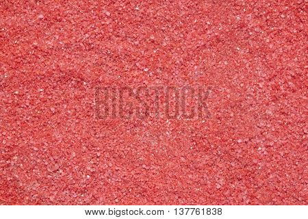 Red salt background