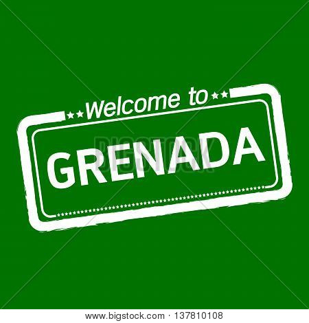 an images of Welcome to GRENADA illustration design
