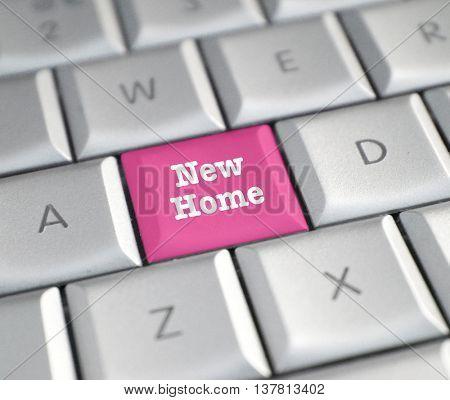 New Home computer key