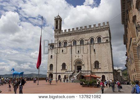 He Piazza Grande, Gubbio