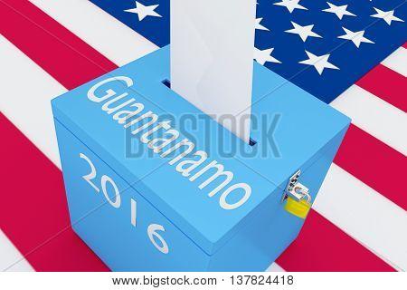 Guantanamo 2016 Concept