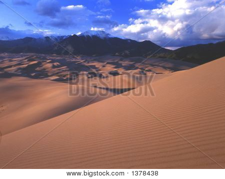 Probably one of the least known parks. The largest dunes in the US Located in south central Colo.(15@f16) poster