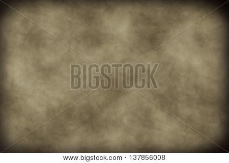 Horizontal framed brown and beige ecru background
