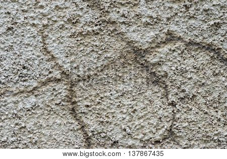 Shaggy background - construction stucco close-up .