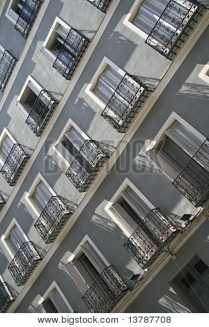 Typical Spanish Fasade