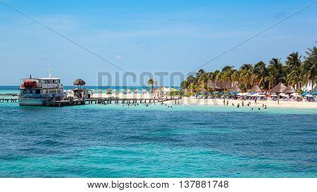Isla Mujeres - Cancun, Quintana Roo - Mexico - August 2012 - Beautiful Beach