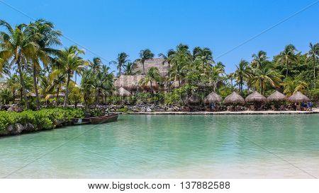 Cancun, Quintana Roo - Mexico - August 2012 - Xcaret Park