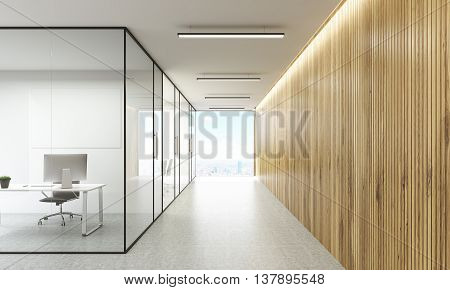 Office And Hallway